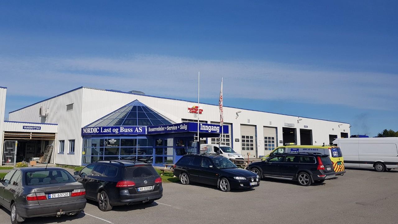 Nordic Last og Buss, avd. Alta. Foto.