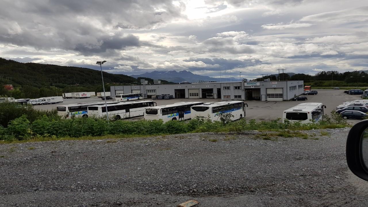 Nordic Last og Buss, avd. Finnfjord. Foto.