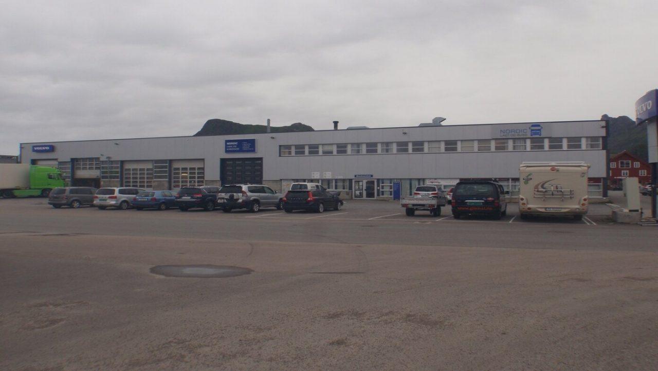 Nordic Last og buss, avd. Svolvær. Foto.