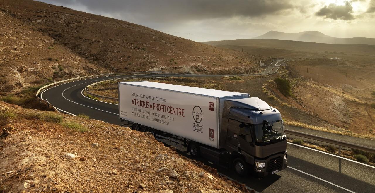 Renault Trucks tjenester. Foto.